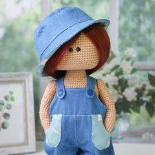 Интерьерные вязаные куклы. Мои работы