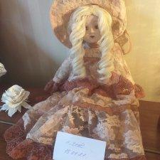 Винтажная фарфоровая куколка (предположительно Франция 1950-е годы)