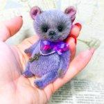 Mr.Bilberry (9 см мишка тедди)