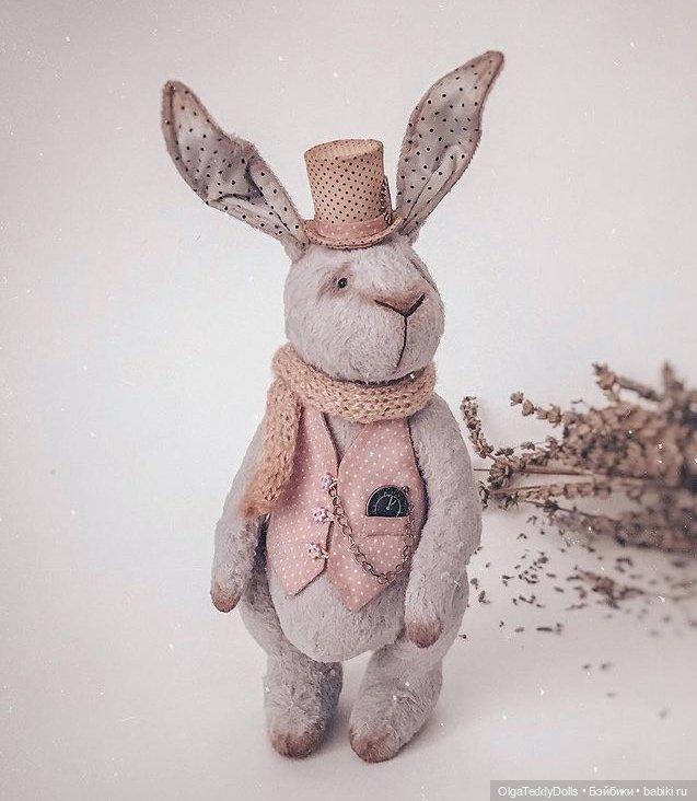 Лавандовый кролик