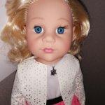 Кукла говорящая,аналог Готц 45см