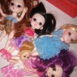 Куклы шарнирные 5 шт (лотом)