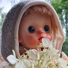 """Моя первая """"КАРМАННАЯ"""" кукла"""