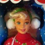 Кукла Барби 1995 г. (Barbie Caroling Fan 1995 г)