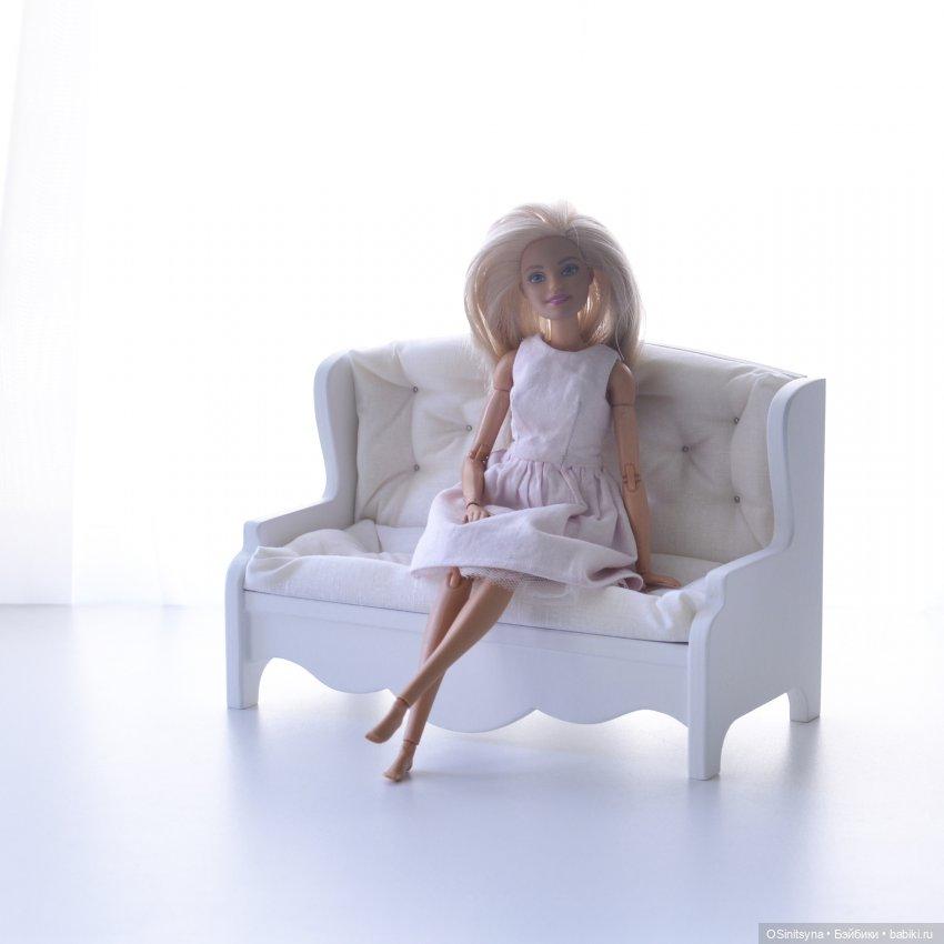 Диванчик для кукол