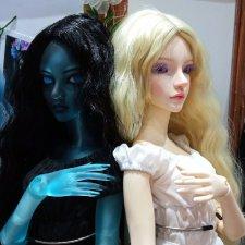 Выставка шарнирных  кукол Dollscar 2 часть(доллскар)
