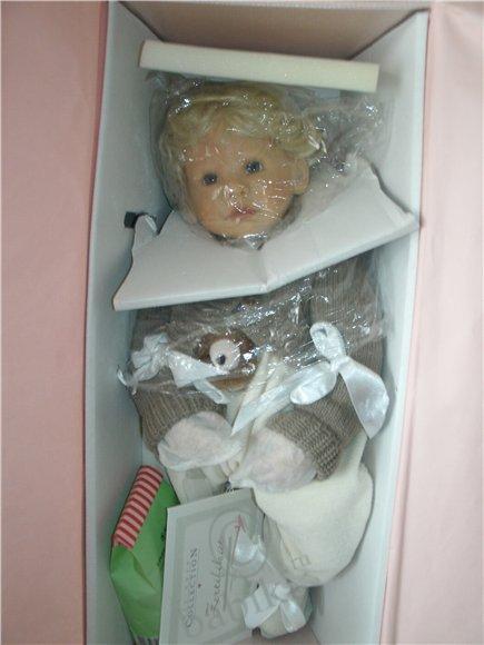 Малышка Клара. Колекционная кукла от Zapf Creation