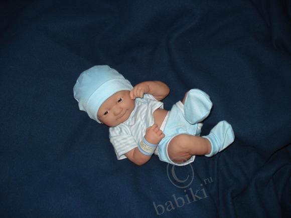 Мой солнечный лучик - Ванечка! Newborn baby doll designed by Berenguer