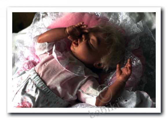 Перерождение реборна Софии - моя первая сплюшка, и она же вторая