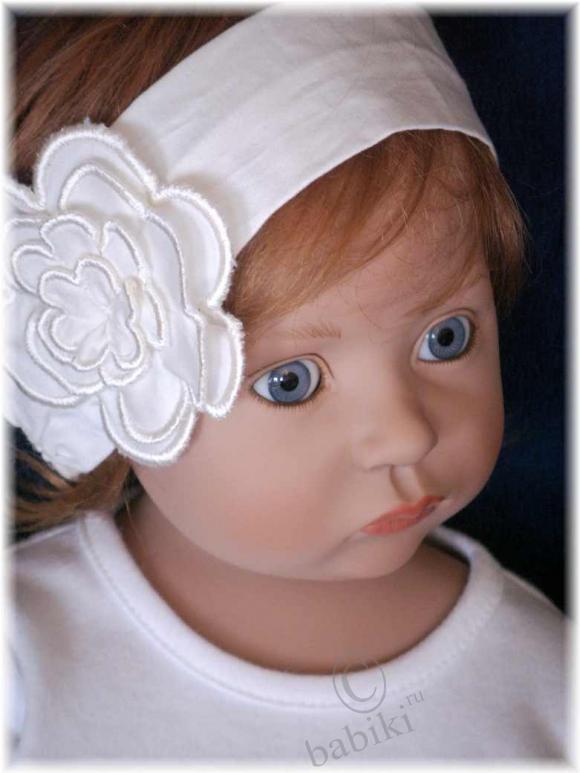 Кукла Тесса от фирмы ZWERGNASE в новом наряде