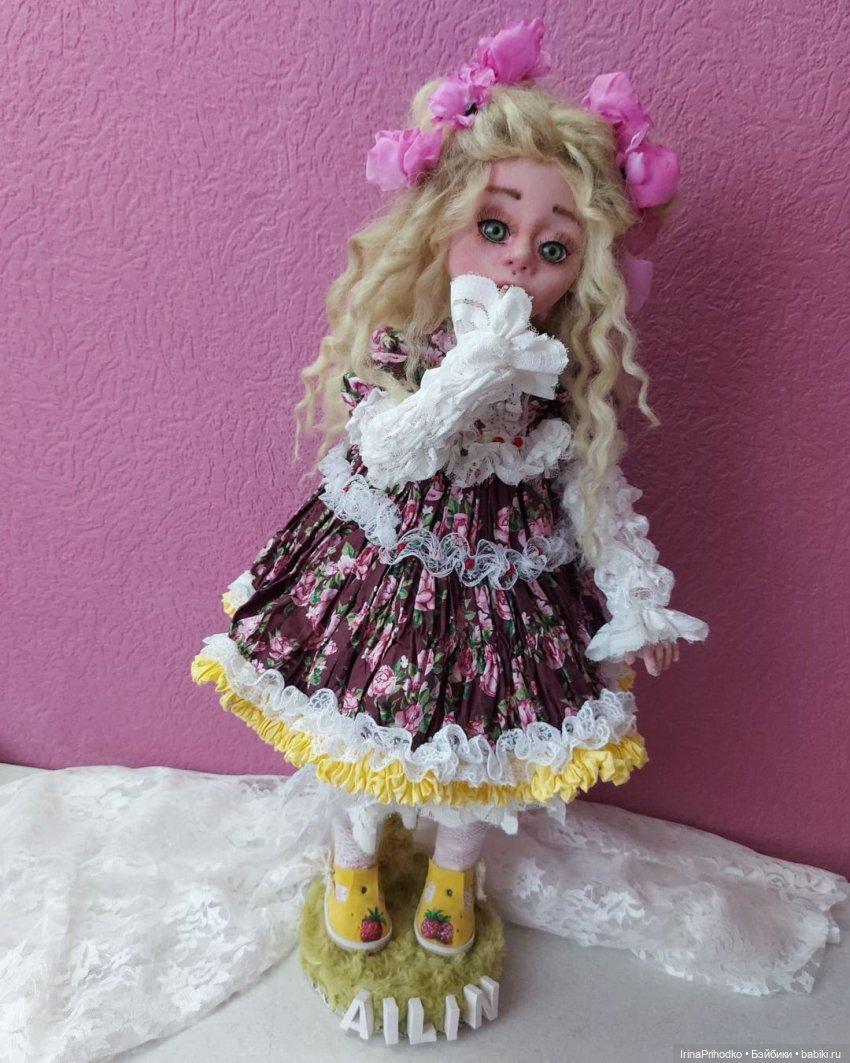 Куколка Айлин, рост 56 см