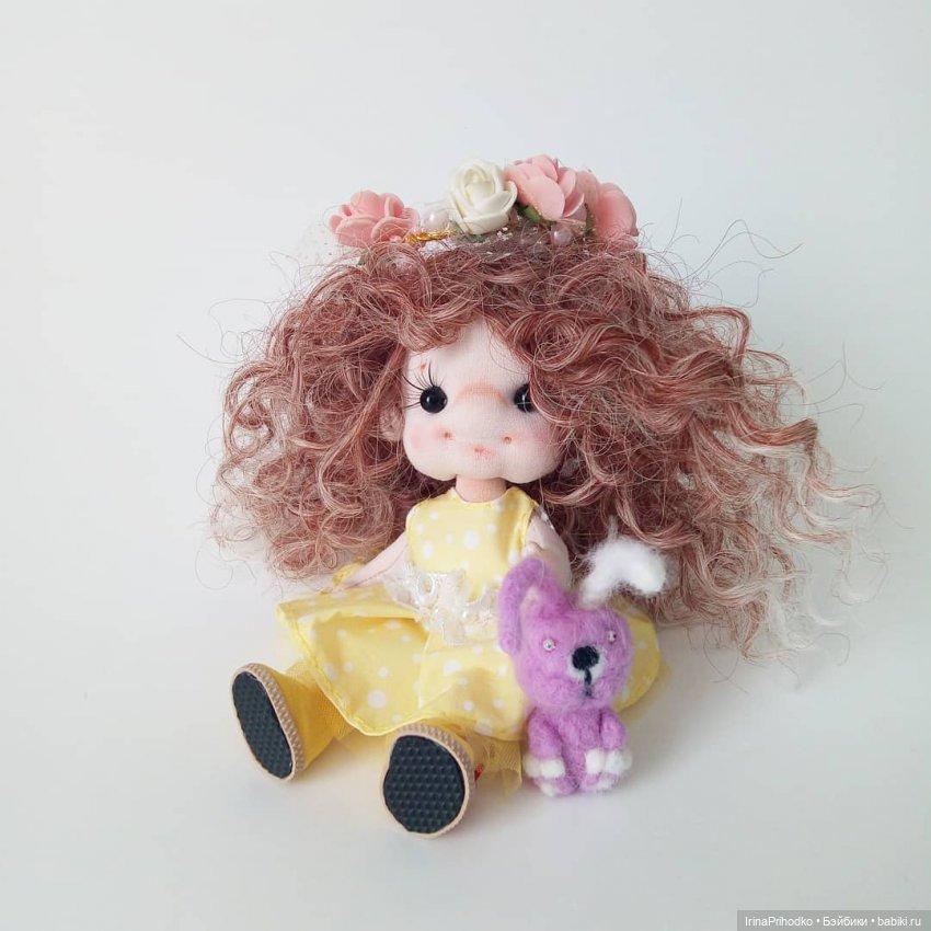 Кукла щекастик