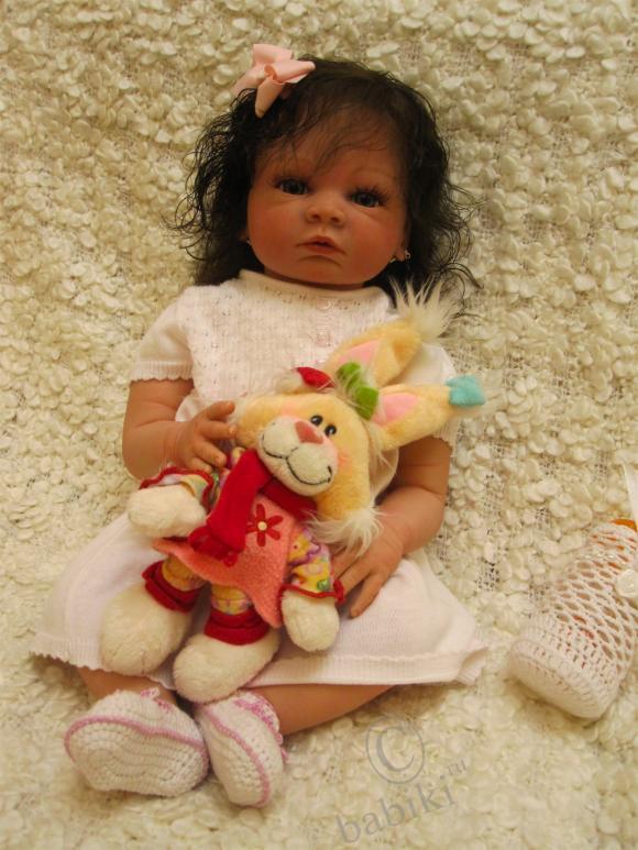 Моя новая Валентинка - реалистичная кукла реборн