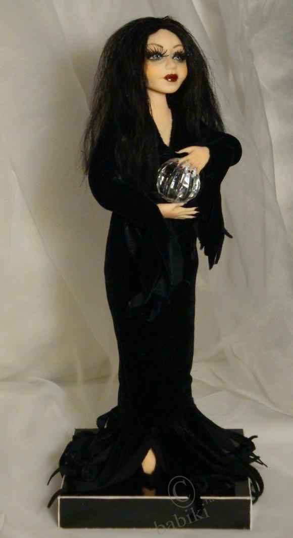 Кукла Моргана, Морганочка, Моргоша, Мартиша. Немного мистики на бейбиках