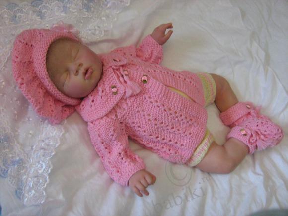 Кукла реборн Верочка родилась! Мама,посмотри на меня