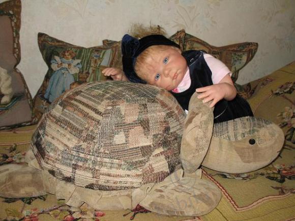 Позвольте представить Вам мою первую куклу-реборн Ханну