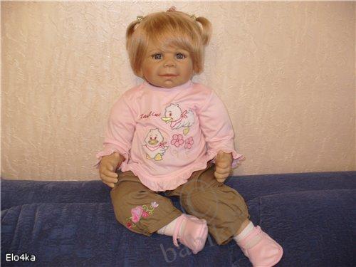 Как Паулина гулять ходила... Коллекционная кукла от от Моники Левениг