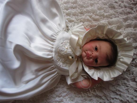 Малышка Эвелина - реалистичная кукла реборн