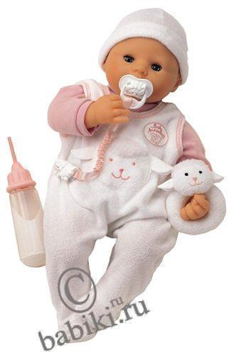 Интерактивная кукла Baby Annabell (Беби Анабель) c54b438526762