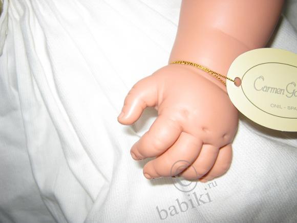 Кукла Альтеа от Carmen Gonzalez - девочка уехала в новую семью