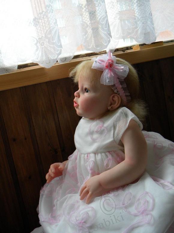 Вот и моя первая Аришка! Кукла реборн