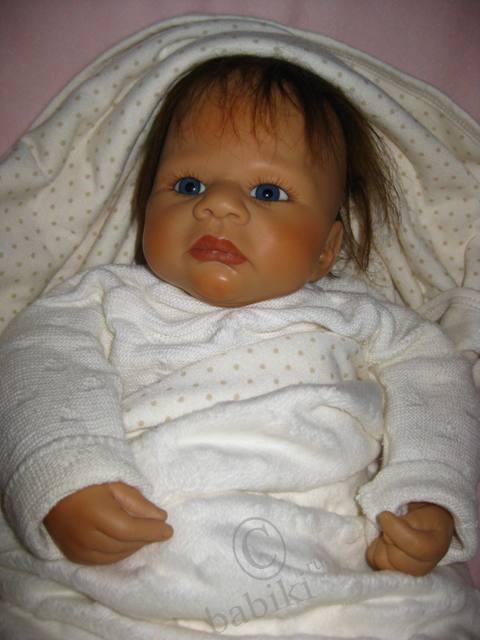 Крошка Вивиен - коллекционные куклы Цапф