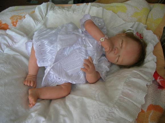 Дологожданная Маруся родилась! Моя кукла-малышка реборн