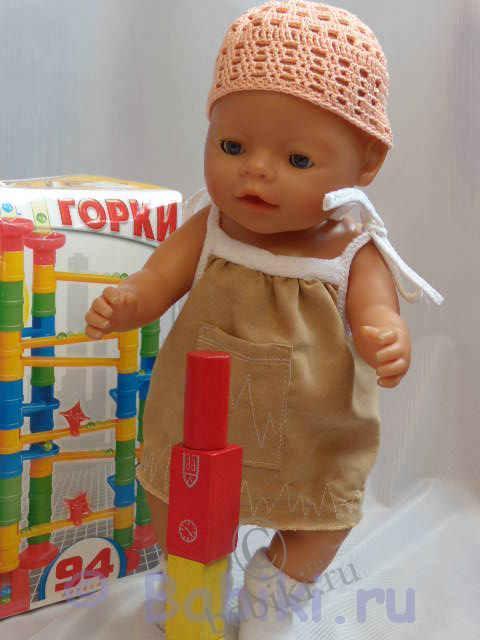 Сарафан для беби бона своими руками с выкройками