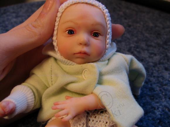 Наконец-то закончена моя вторая куколка! Этот топик для всех, кто ждал
