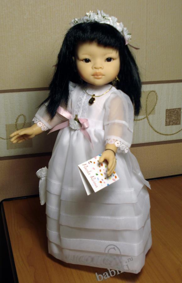 Моя ванильная принцесса Лиу! Кукла  Paola Reina, 32 см