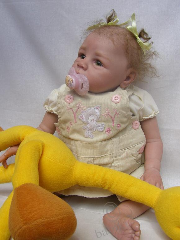 Мария - куколка реборн, еще 1 фотосессия