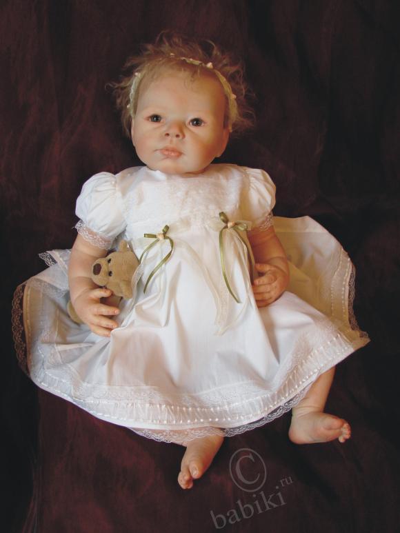 Мы едем к маме - кукла реборн Сью