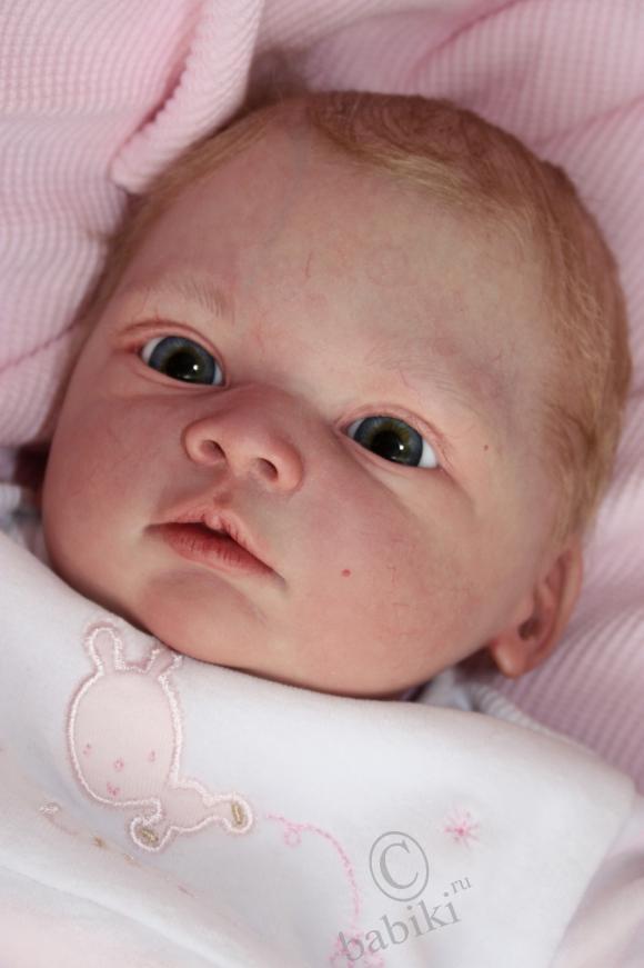 Маленькая Ярославна - кукла реборн