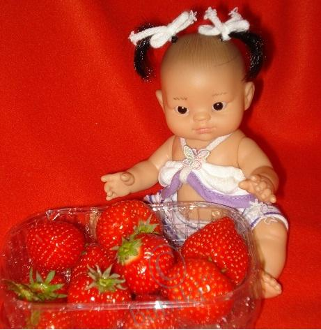 Вечно прекрасная Бабочка! Kumiko-Cho! Первое знакомство! Игровой пупс от Paola Reina из коллекции 2010 года