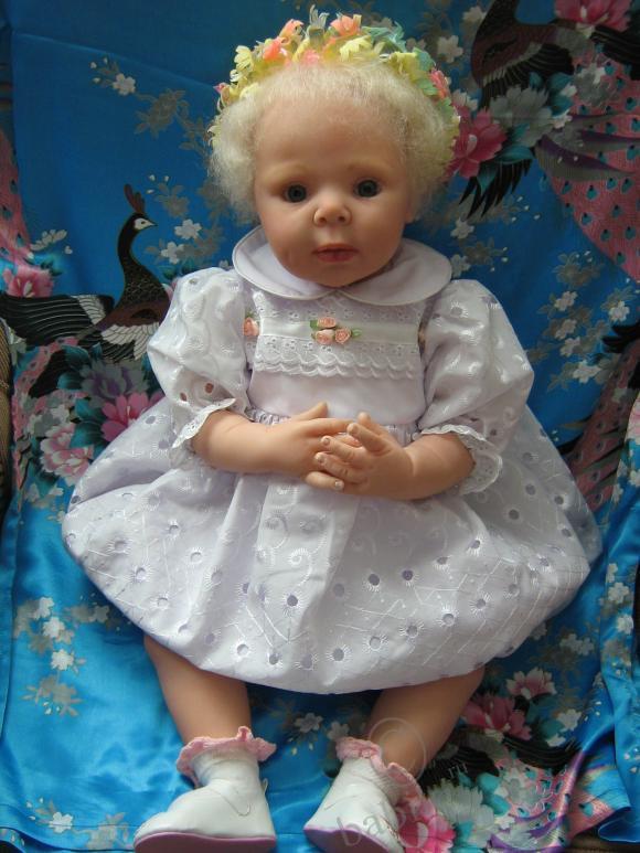 Сегодня родилась моя долгожданная Эмма, кукла от Adrie Stoete-Schuiteman. Приглашаем в гости