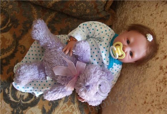 Моя прекрасная Мегги! Коллекционная кукла реборн