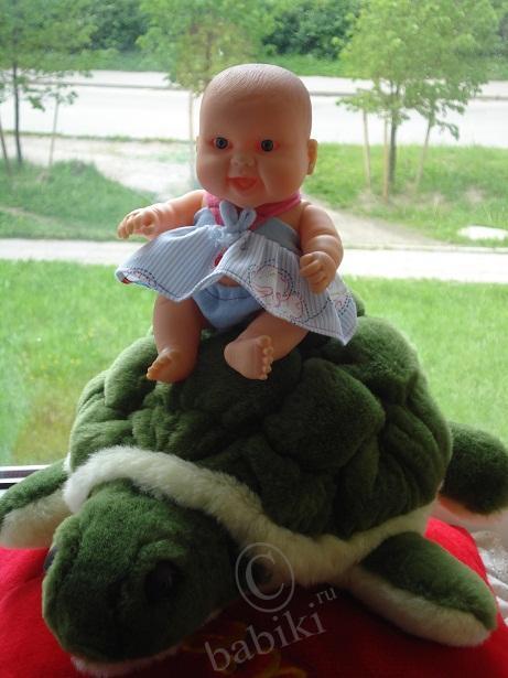 Детки на отдыхе, часть вторая - кукла Зоська