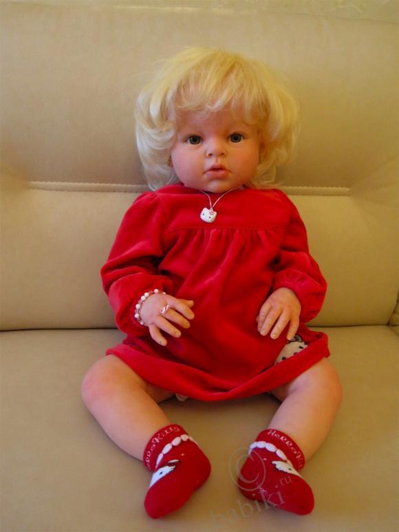 Опять Аришка  - реалистичная кукла Reborn baby