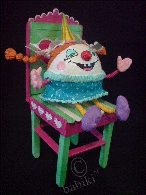 Авторские куклы из паперлея - папье-маше