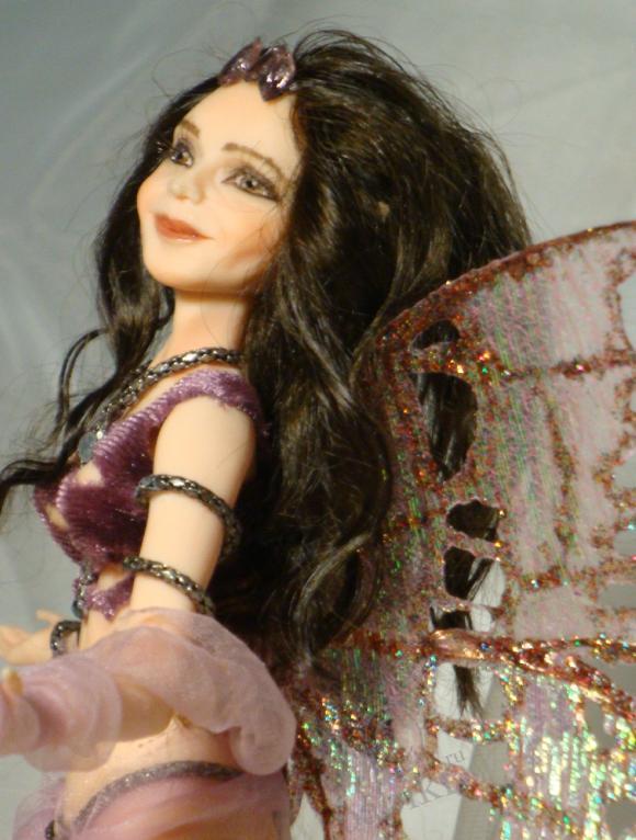 Авторская кукла Елены Коноваловой