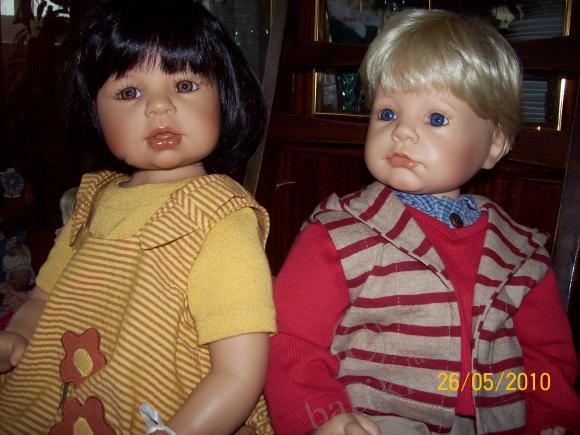 Приехали мои малыши. Коллекционные куклы от Zapf Creation