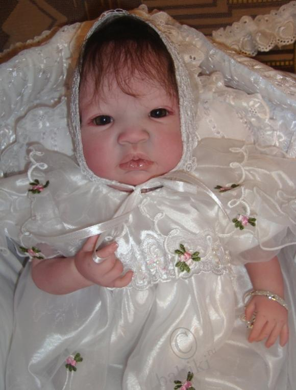 Моя принцесса Жасминка - малышка реборн Шаян