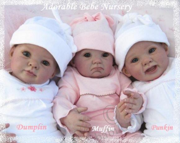 Донна Руберт- 3 новых молда для куклы реборн