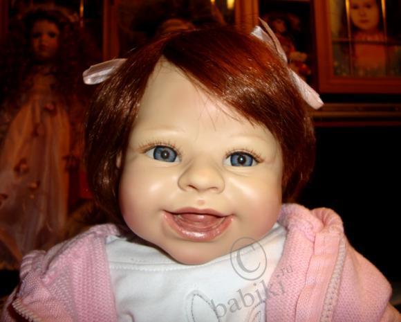 Моя кукла Ванесса... решила остаться у меня