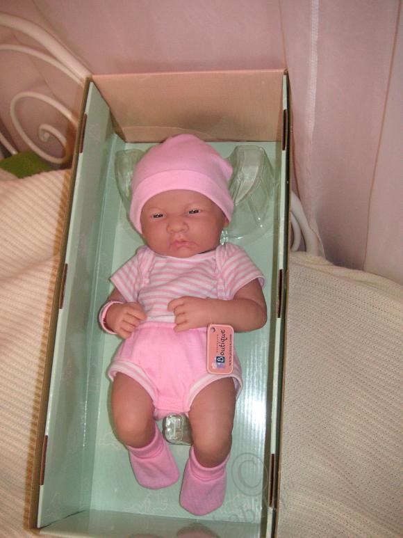 Моя первая куколка BERENGUER - Розочка