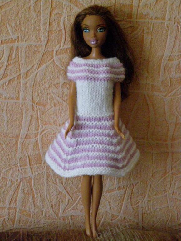 Моё вязание для куклы My Scene