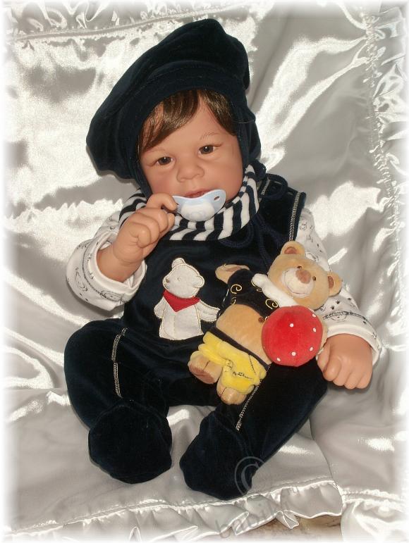 Мой реборн из куклы от Евы Хелланд
