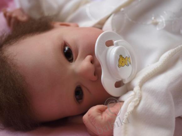 Кукла реборн Тейлор - сладкая девочка