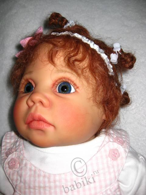 Коллекционная кукла Тами от Герлинде Фезер