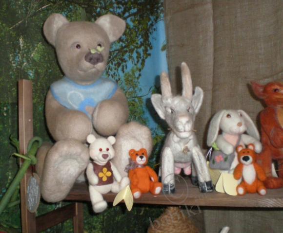 Выставка кукол - лето 2009